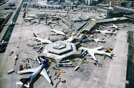 Rhein Main Flughafen, Frankfurt am Main, FRAPORT